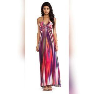 Sky Jolima Halter Maxi Dress